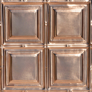 Constitution Square - Copper Ceiling Tile - 24 in x 24 in - #1221