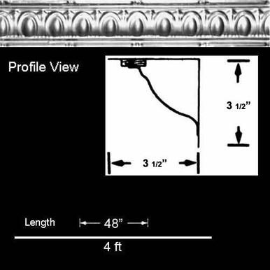Puffed Archways - Shanko Tin Cornice - #802