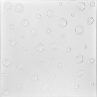 Bubbles Glue-up Styrofoam Ceiling Tile 20 in x 20 in - #R07