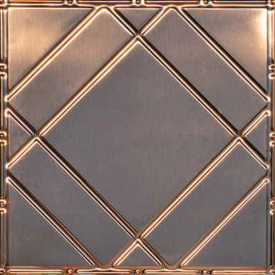 Floating Geometry - Copper Ceiling Tile - #2404