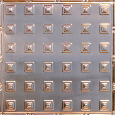 Uptown - Copper Ceiling Tile - 24 in x 24 in - #2478