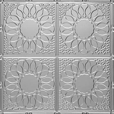 "Kaleidoscope - Aluminum Ceiling Tile - 24""x24"" - #1214"