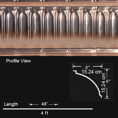Stately Arches - Copper Cornice - Nail up - #EC0601