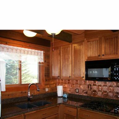 Gwen's Cabin - Copper Backsplash Tile - #0512