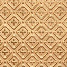 WC 70 Faux Tin Filler / Border Roll - Cross-N-Diamond - 3 in Pattern