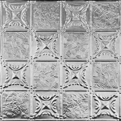 "Grandma's Quilt - Tin Ceiling Tile - 24"" x 24"" - #0610"