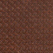 WC 20 Antique Gold Faux Tin Backsplash Roll comes in 3 sizes and 11 colors. The pattern size is 1 and a 1/4 of an inch.