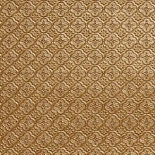 WC 20 Brass Faux Tin Backsplash Roll comes in 3 sizes and 11 colors. The pattern size is 1 and a 1/4 of an inch.