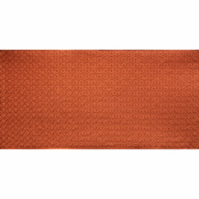 WC 20 Copper Faux Tin Backsplash Roll comes in 3 sizes and 11 colors. The pattern size is 1 and a 1/4 of an inch.