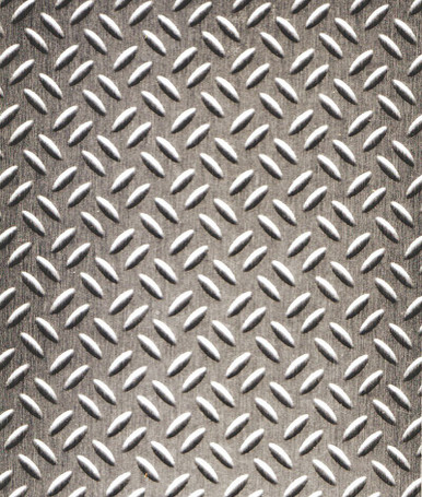 Stainless Steel Diamond Plate NuMetal Stainless Steel Laminate 4ft. x 8ft. 256 GEK