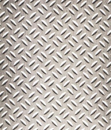 Brushed Aluminum Diamond Plate NuMetal Aluminum Laminate 4ft. x 8ft. 924 GEK