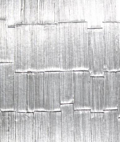 Brushed Stainless Shingles NuMetal Aluminum Laminate 4ft. x 8ft. 256 SHI