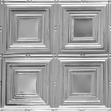 Cubism - Shanko Tin Plated Steel Ceiling Tile - #320