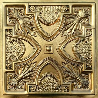 Faux Tin Ceiling Tile - 24 in x 24 in - #DCT 11