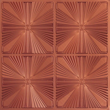 Faux Tin Ceiling Tile - 24 in x 24 in - #242