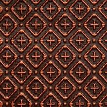 Cross-N-Diamond - 3 in Pattern - Faux Tin Backsplash Roll - #WC 70