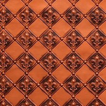 WC 80 Fleur De Lis - Backsplash Roll - Antique Copper