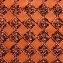 Fleur de Lis - 3 in Pattern - Faux Tin Backsplash Roll - #WC 80