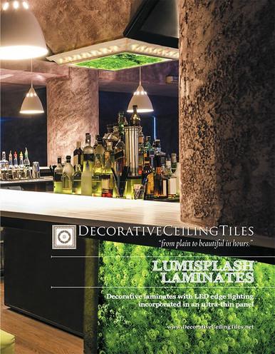 LumiSplash Backlit Walls, Counters and Backsplash Paper Catalog