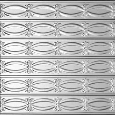 Ribbons - N - Bows - Tin Ceiling Tile - #0303