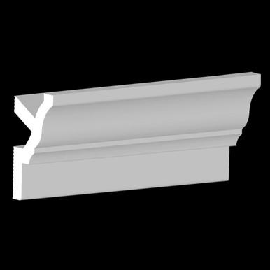 DIY Foam Crown Molding  3 in. Wide 8 ft. Long - #CC 351
