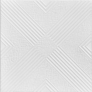 Hidden Treasure Glue-up Styrofoam Ceiling Tile - 20 in x 20 in - #R34