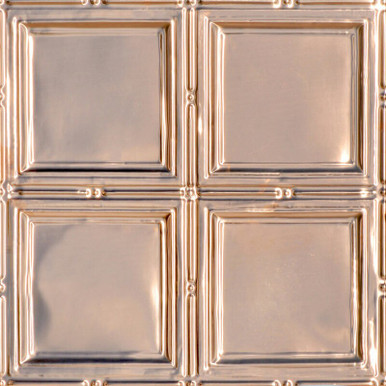 Piazza San Marco - Copper Ceiling Tile - 24 in x 24 in - #1209