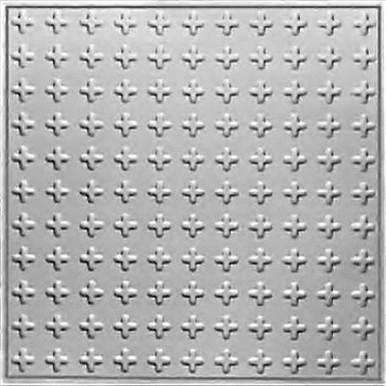 "Cosmopolitan - Tin Ceiling Tile - 24""x24"" - #2476"