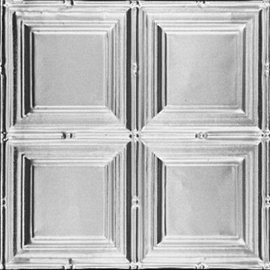 """Constitution Square - Tin Ceiling Tile - 24""""x24"""" - #1221"""