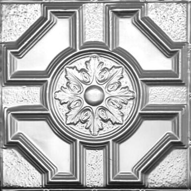 "Baroque - Tin Ceiling Tile - 24""x24"" - #2408"