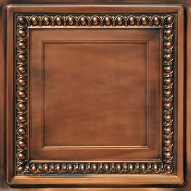 Cambridge - Faux Tin Ceiling Tile - 24 in x 24 in - #DCT 06