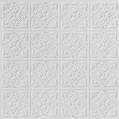 Faux Tin Drop Ceiling Tile - 24 in x 24 in - #DCT 0209