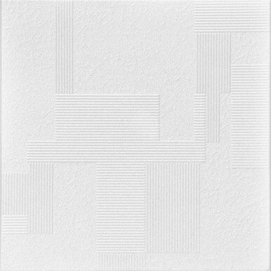 Vectors Glue-up Styrofoam Ceiling Tile 20 in x 20 in - #R187