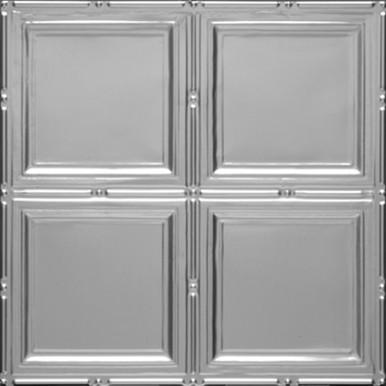 "Piazza San Marco - Tin Ceiling Tile - 24""x24"" - #1209"
