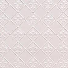 WC 80 Faux Tin  Filler / Border Roll - Fleur de Lis - 3 in Pattern