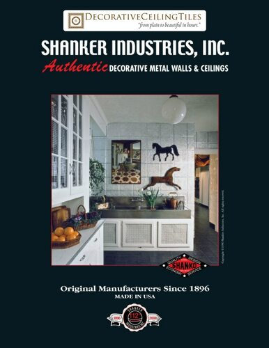 Shanko - Tin Wall and Ceilings - Paper Catalogue