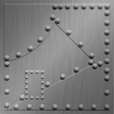 Metal Plates - MirroFlex - Ceiling Tiles Pack