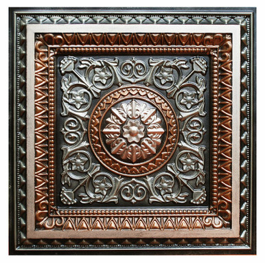 La Scala II - FAD Hand Painted Ceiling Tile - #CTF-001-2