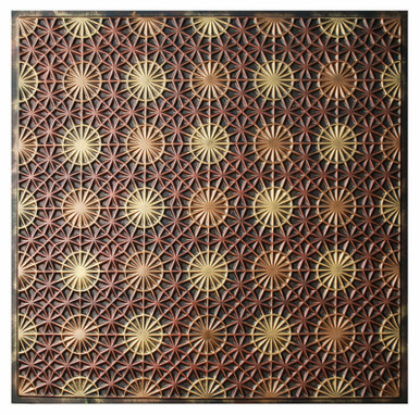 FAD Hand Painted Ceiling Tile - #CTF-011