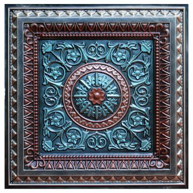 La Scala III - FAD Hand Painted Ceiling Tile - #CTF-001-3