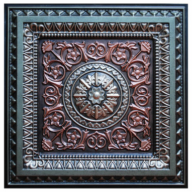 La Scala IV - FAD Hand Painted Ceiling Tile - #CTF-001-4