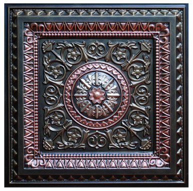 La Scala V - FAD Hand Painted Ceiling Tile - #CTF-001-5