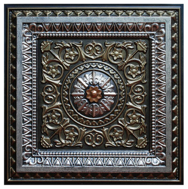 La Scala VI - FAD Hand Painted Ceiling Tile - #CTF-001-6