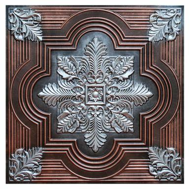 Large Snowflake II - FAD Hand Painted Ceiling Tile - #CTF-003-2