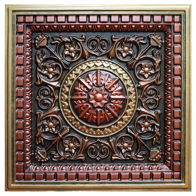 Da Vinci - FAD Hand Painted Ceiling Tile - #CTF-012