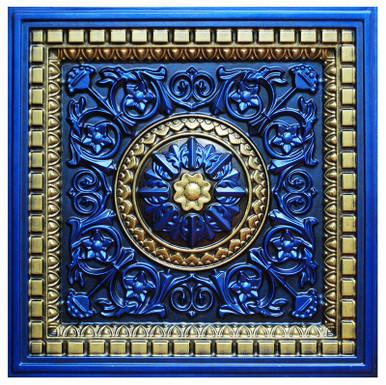 Da Vinci II - FAD Hand Painted Ceiling Tile - #CTF-012-2