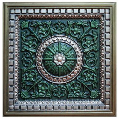 Da Vinci V - FAD Hand Painted Ceiling Tile - #CTF-012-5