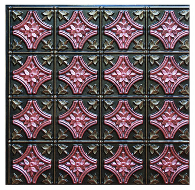 Gothic Reims II - FAD Hand Painted Ceiling Tile - #CTF-009-2
