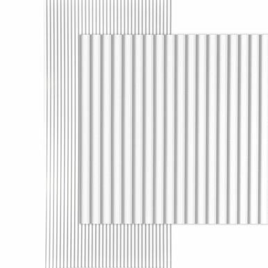 Ridges MirroFlex  4x8 / 4x10 Glue Up PVC Wall Panels