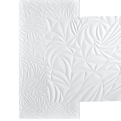 Sculpted Petals MirroFlex 4x8 / 4x10 Glue Up PVC Wall Panels